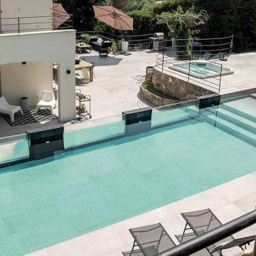 Fußboden für Schwimmbäder