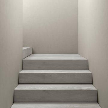 Treppe aus Feinsteinzeug